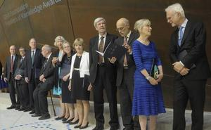 Bilbao premia a doce de las mentes más brillantes del planeta