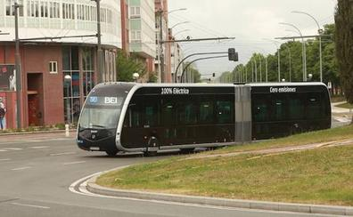 El 'bus exprés' ya está en Vitoria y las obras para su implantación empezarán a mediados de agosto