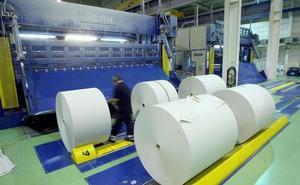 La industria vasca del papel dibuja un panorama oscuro por la caída de la demanda y el alza de los costes