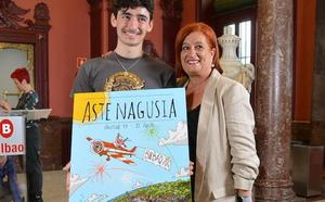 'Gure Mundua', el cartel ganador de la Aste Nagusia 2019