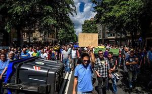 Los trabajadores del metal redoblan su presión contra las empresas en la huelga de hoy