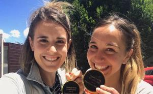 Ane Ibáñez y Nagore Martín revalidan el título de campeonas de España de paleta