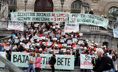 Los sindicatos anticipan «un otoño caliente» en el Ayuntamiento de Bilbao