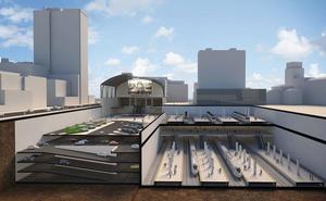 Fomento licitará en un año las obras de la estación del TAV en Bilbao