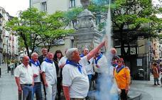Cerca de 1.000 jóvenes, agrupados en 56 cuadrillas, participarán en el inicio de las fiestas de Eibar