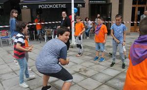 Los vecinos de Pozokoetxe se rinden a sus fiestas