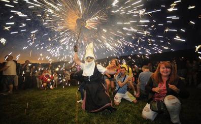 ¿Sabes dónde disfrutar de las hogueras de San Juan en Bizkaia?