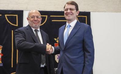 El líder de Ciudadanos en Castilla y León reconoce el «cabreo» por pactar con el PP
