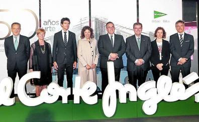 El Corte Inglés, «de Bilbao como San Mamés»