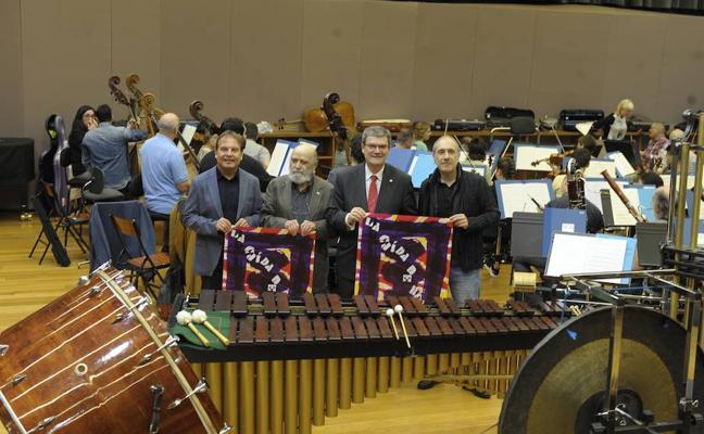 Bilbao dice «no a las violencias» con la cantata de Luis de Pablo