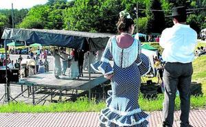 El Rocío, San Juan Sua, exposición de pintura y 'food trucks', en Ermua