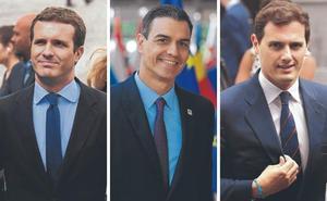 El pacto de Sánchez en Navarra dinamita todos los puentes con Casado y Rivera