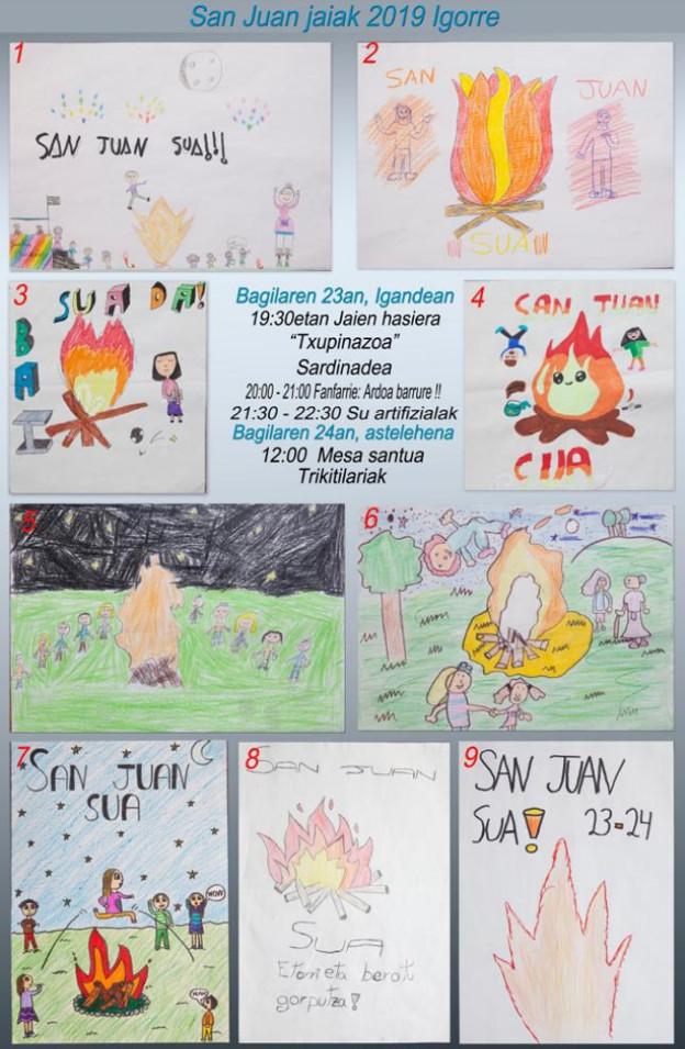 Programa de fiestas de Igorre 2019: San Juan Jaiak