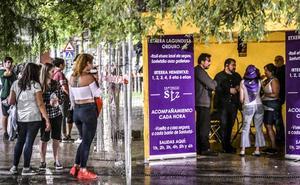 Sestao, Leioa y Santurtzi ofrecen escolta en fiestas para prevenir agresiones de vuelta a casa