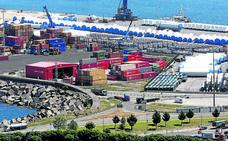 Las exportaciones vascas repuntan en abril por Petronor, los trenes y las ruedas