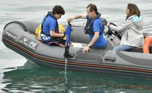 Dos muestras de agua de Plentzia y Getxo ayudarán a una investigación mundial
