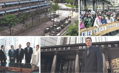 El Palacio de Justicia cumple 25 años con un ritmo de 3.000 sentencias y autos al mes