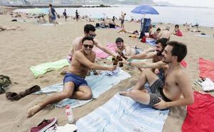 Bizkaia estrena el verano a 32 grados