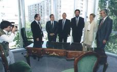 25 años del Palacio de Justicia en 25 fotos