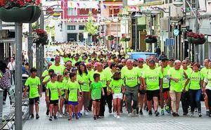 La marcha solidaria contra el cáncer supera las expectativas