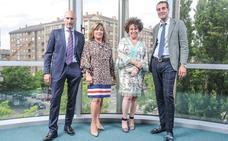 Elegancia y mucho estilo en la Audiencia Provincial de Álava