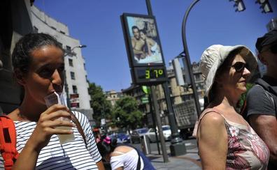 Euskadi, en alerta naranja el jueves y el viernes por temperaturas de hasta 39 grados