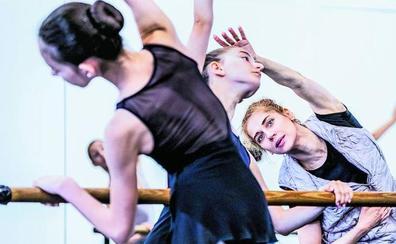 Desde San Petersburgo bailando danza