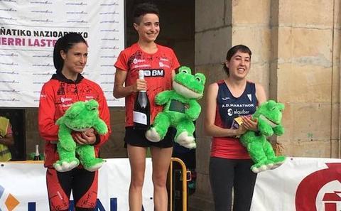 Elena Loyo, plata en los 10KM de Oñati