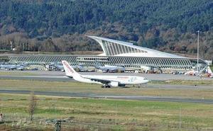 Fomento fijará los servicios mínimos de la huelga en el Aeropuerto de Bilbao al no haber acuerdo entre Aena y comité