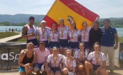 Las remeras del Raspas logran tres oros en el Campeonato de España