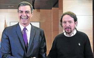 Sánchez vetará hasta el final a Iglesias como ministro para evitar choques en el Gobierno
