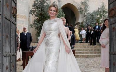 Ainhoa Arteta, la novia que no vistió de blanco y confió en el diseño vasco