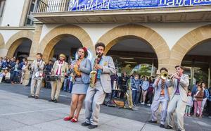 El premio del concurso de música de calle de Amorebieta se va hasta Granada
