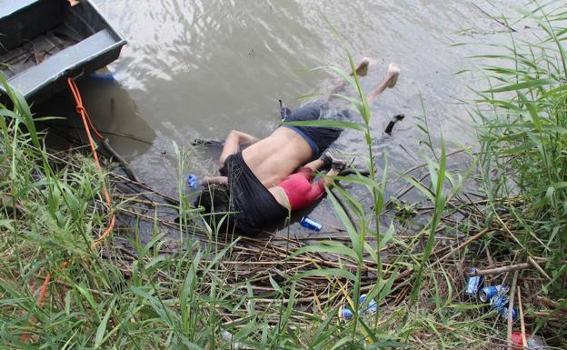 """Resultado de imagen de el niño hondureño ahogado con su padre"""""""