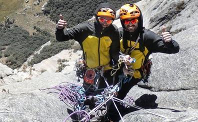 Los hermanos Pou inician una nueva aventura en la Cordillera Blanca peruana