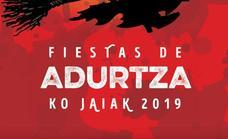 Programa de fiestas de Adurza 2019: Adurtzako Jaiak