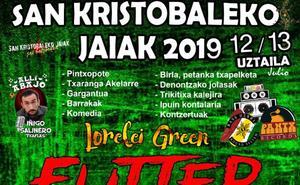 Programa de fiestas de San Cristobal 2019 en Vitoria