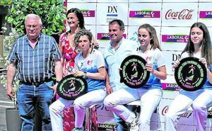 El segundo torneo femenino de San Fermín concita a 16 pelotaris