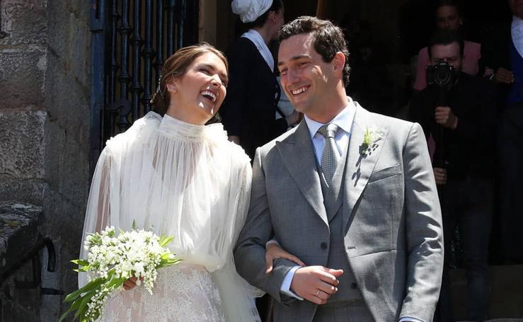 La boda en Zumaia de Valentina: la descendiente con más clase del pintor Zuloaga
