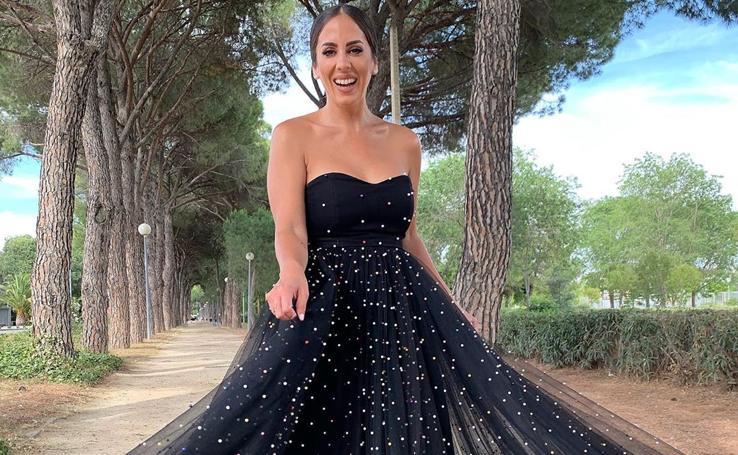 El look de invitada más aplaudido en la boda de Belén Esteban