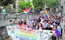 Ermua se suma con varios actos al apoyo a la diversidad sexual y el orgullo LGTBI