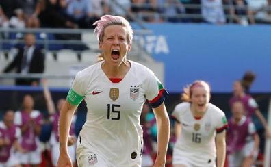 Megan Rapinoe, el rostro de la resistencia a Trump en el Mundial femenino