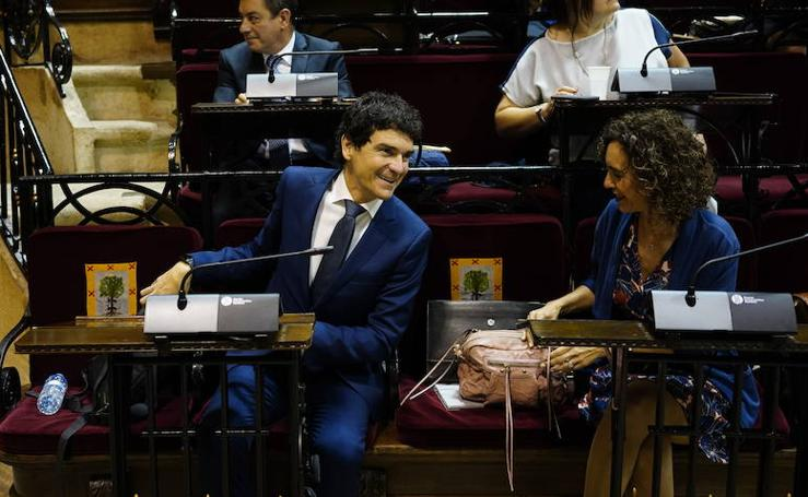 Investidura de Unai Rementeria como diputado general