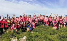 Montañeras de Bizkaia se reúnen en el primer Encuentro 'Mujer y Montaña' de Bizkaia