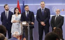 Vox presenta una querella contra Zapatero por «colaboración» con ETA