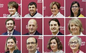 Getxo pone cara a las áreas de su nuevo y paritario equipo de gobierno municipal