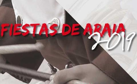 Programa de fiestas de Araia 2019: Araiako Jaiak