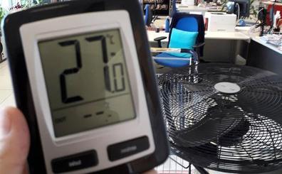 «Llevamos dos años sin aire, cocidos a 29 grados», denuncian en el Juzgado de Getxo