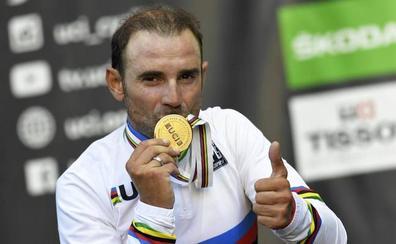 Valverde renueva con Movistar por dos años