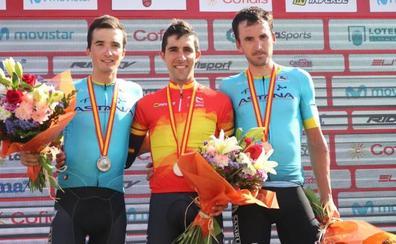 Castroviejo pasa a la historia con su quinto oro en contrarreloj en el campeonato de España